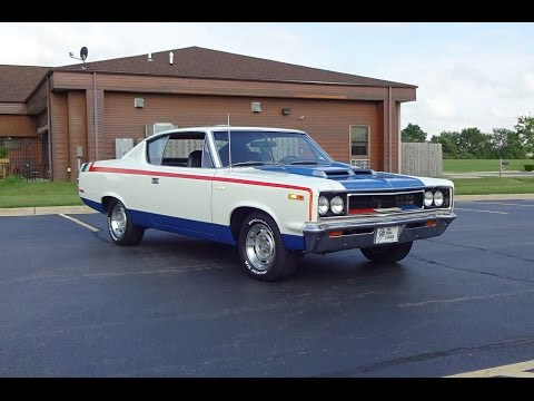 1970 AMC Rebel The Machine in Red White & Blue & Engine Start Up on My Car Story with Lou Costabile