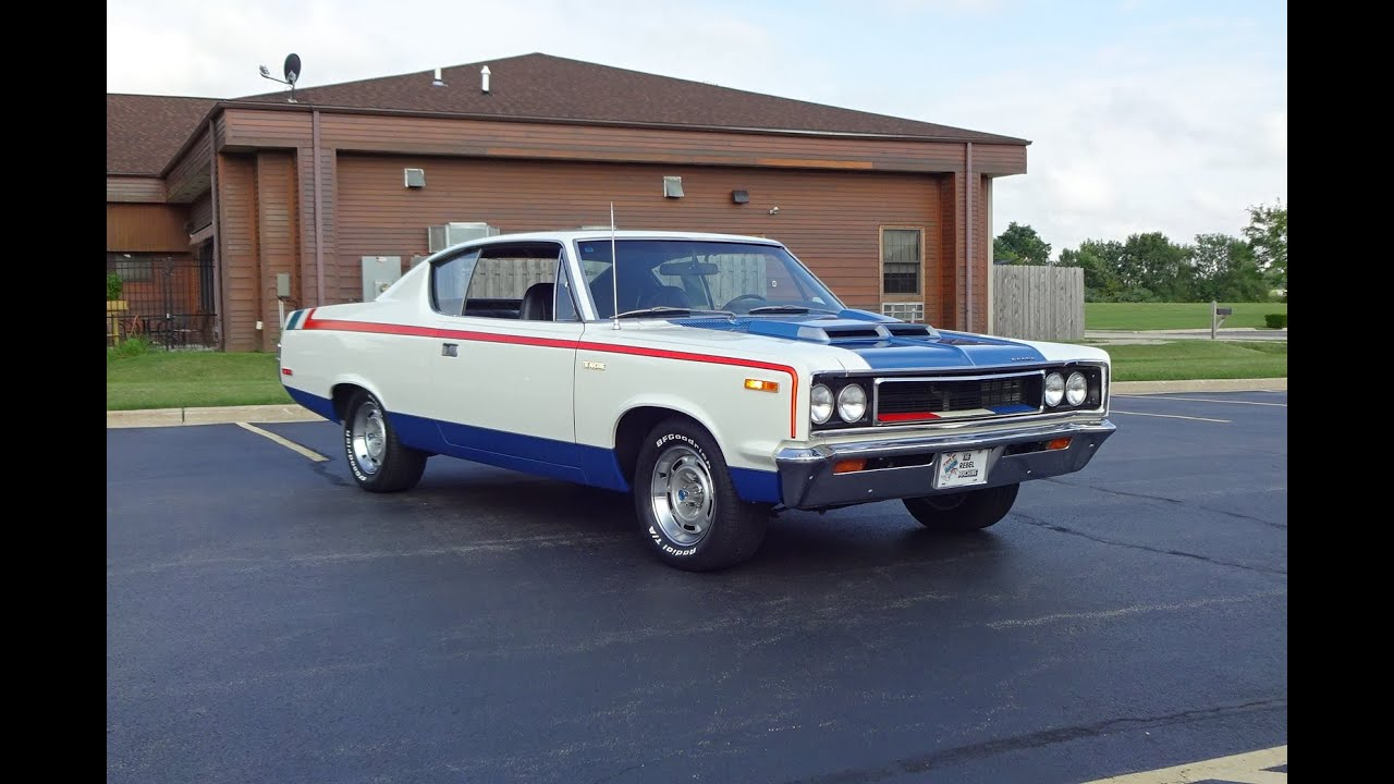 1970 amc rebel the machine in red white blue engine. Black Bedroom Furniture Sets. Home Design Ideas
