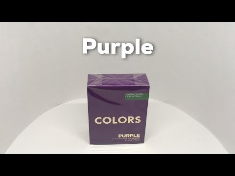 Colors Purple For Her By United Colours Of Benetton