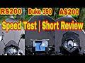 2017 KTM Duke 390, Pulsar RS200 & Pulsar AS200   Speed test & Short Review   Ride to DD Hills