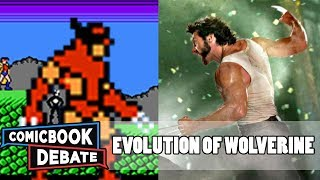 Evolution of Wolverine Games in 2 Minutes (2017)