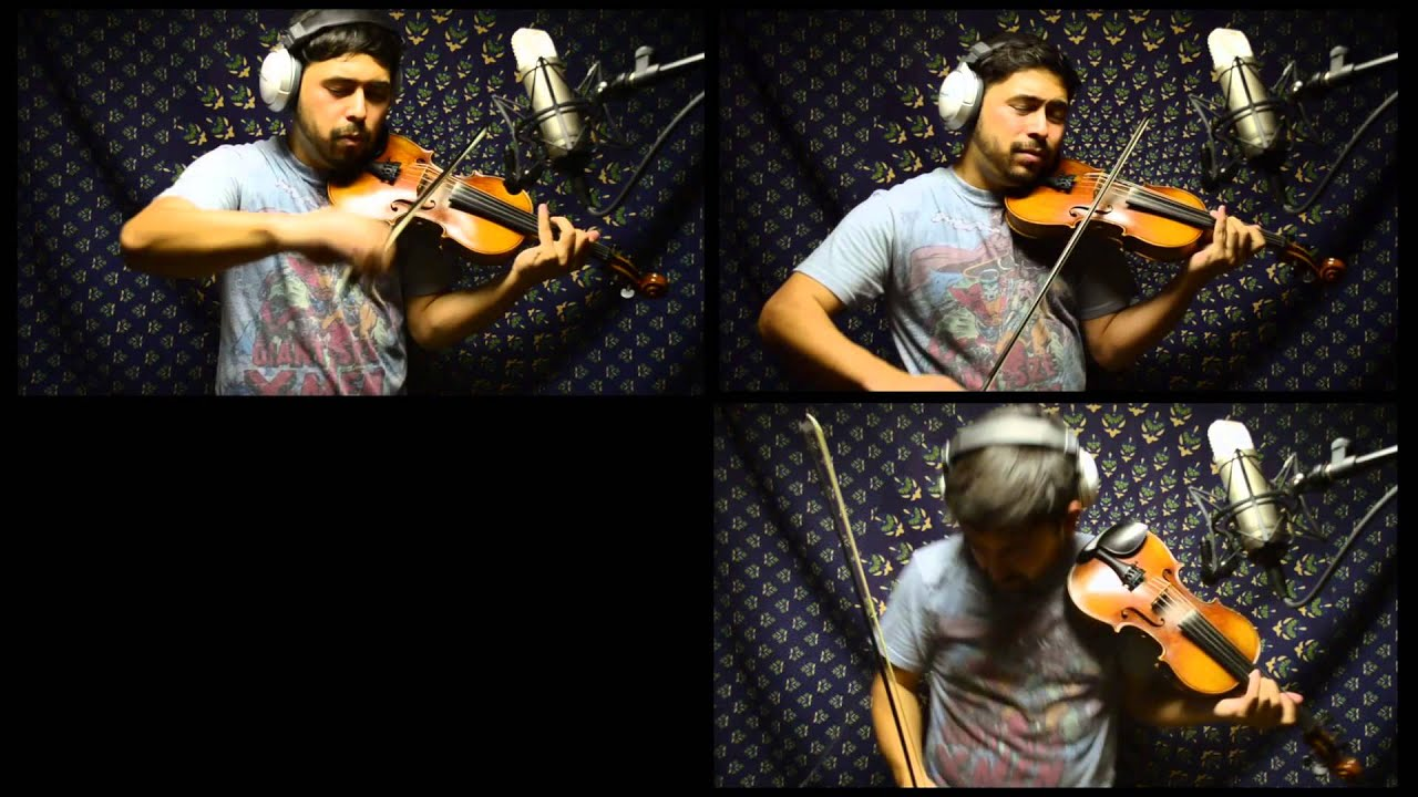 MUSE: Hysteria- 5 String Violin Cover by David Wong