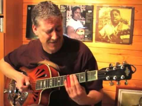 Walking Blues - Robert Johnson/Johnny Shines style- Delta Blues