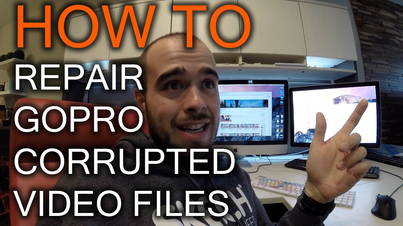 HOW TO FIX YOUR GOPRO CORRUPTED FILE IN TWO MINUTES