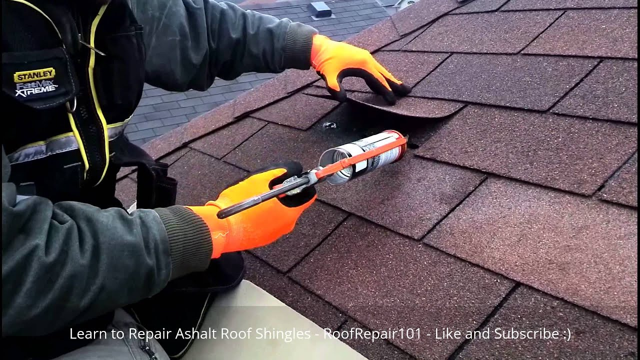 Repair Roof Shingles Replace Missing Aspahlt Roofing