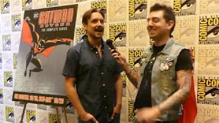 Batman Beyond 20th Anniversary Will Friedle & Andrea Romano SDCC 2019 Interview