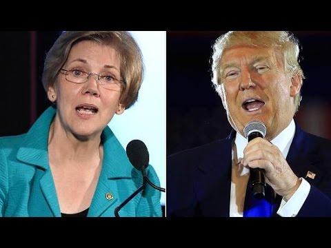 Donald Trump & Elizabeth Warren Get In A Twitter War