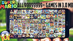 DOWNLOAD ALL 999999999+ OLD VIDEO GAMES IN 3 MB FOR ANDROID !! SUPER MARIO, CONTRA, WWE & MORE