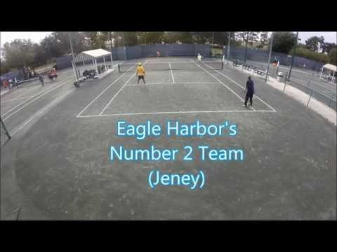 Doubles Tennis: CT Brown vs Eagle Harbor (Team 2)