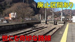 新幹線開業によりズタボロになった路線に乗ってきた
