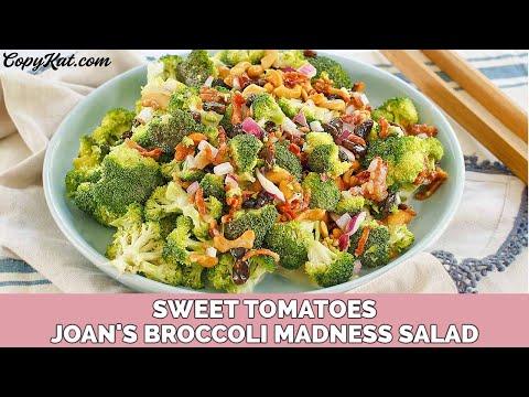 Copycat Sweet Tomatoes Joan's Broccoli Madness Salad