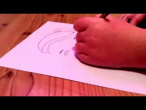 top model how to draw