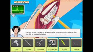 Operate Now: Arm Surgery 2 Fast Walkthrough
