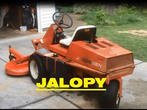 """Jacobsen Turfcat 60 PTO repairing obsolete parts feat. HOME MADE """"Lathe""""!!"""