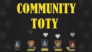 Community TOTY My Voting Card Reveal NHL 18 HUT