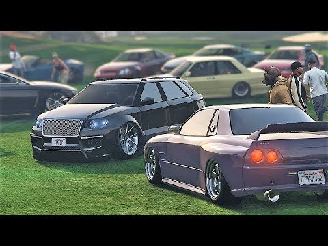 INSANE GTA 5 Online Car Meet