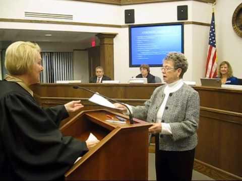 Mayor and Vice Mayor Take Oath of Office
