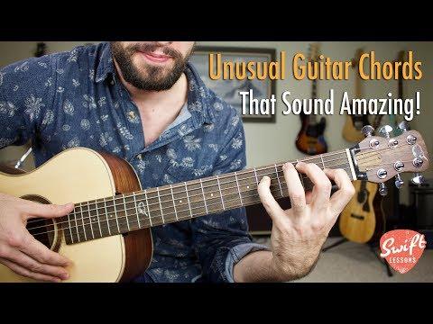 4 Unusual Guitar Chords that Sound Amazing!