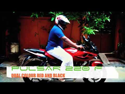 pulsar 220f dual colour red and black hd youtube