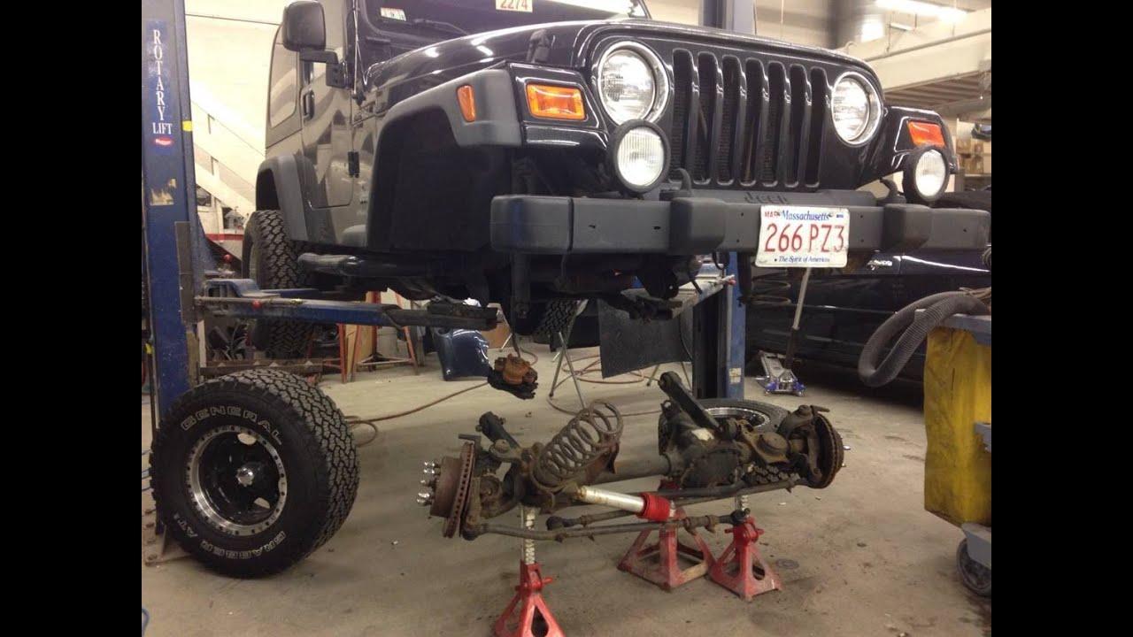 jeep wrangler suspension plan! - youtube