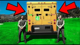 What Is Inside The Golden Money Truck In GTA 5?