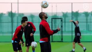 تدريب الدحيل لمواجهة الأهلي في الاسبوع 11 من الدوري