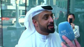 Ahmed Bin Sulayem interview with RTÉ 1 Radio at the opening of Kerry Regional Centre