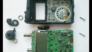 YAESU VX-3R. РОЗТИН. Розбираємо Р/С. Відео інструкція.