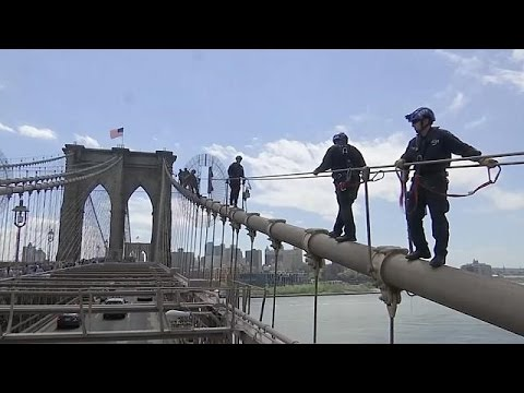 USA: NYPD 'extreme' training