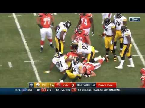 Harrison Becomes Steelers Sack Leader