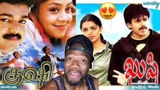 Download Kushi (Tamil) vs Kushi (Telugu) Scene Reaction | Vijay vs Pawan Kalyan (REACTION)