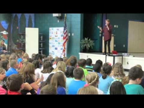 M.H. Herlong visits Fork Shoals School