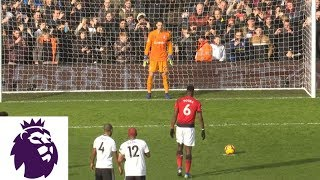 Paul Pogba's penalty kick makes it 3-0 for Man United v. Fulham | Premier League | NBC Sports