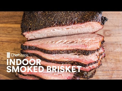 Indoor Smoked Brisket