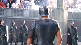 """stone Cold"" Steve Austin Does His Best ""gladiator"" Impersonation: Wrestlemania 21"