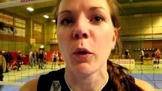 Värnamo Nyheter intervjuar Johanna Larsson, Gislaveds Volleybollklubb