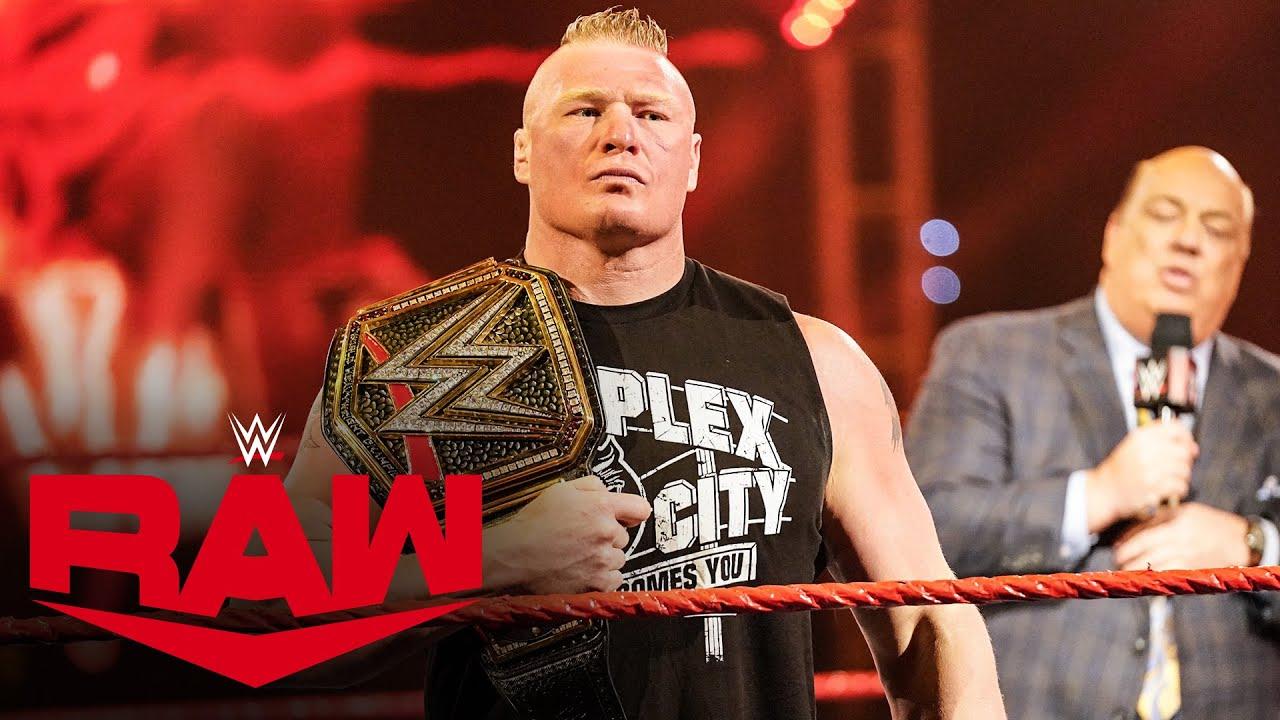 Paul Heyman's WrestleMania prediction for Brock Lesnar: Raw, March 30, 2020