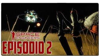 SPACE ENGINEERS: Drones de recursos y arañas gigantes!   EPISODIO 2   GAMEPLAY ESPAÑOL