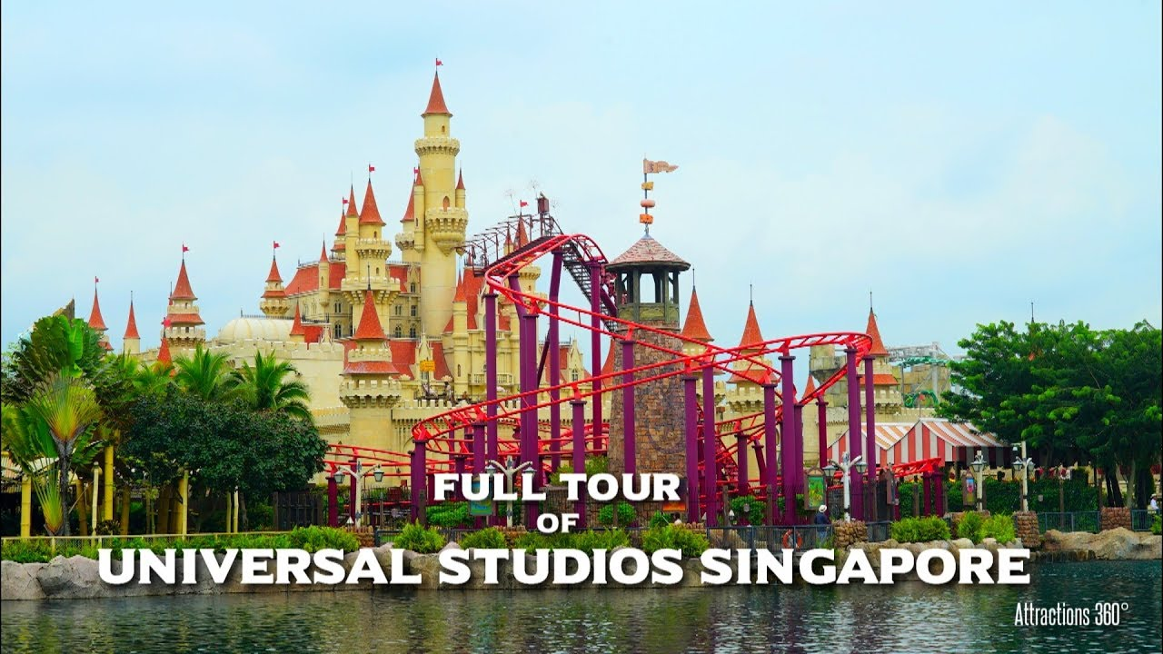 Hd Universal Studios Singapore Tour Universal Studios Theme Park