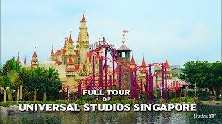 [HD] Universal Studios Singapore Tour - Universal Studios Theme Park
