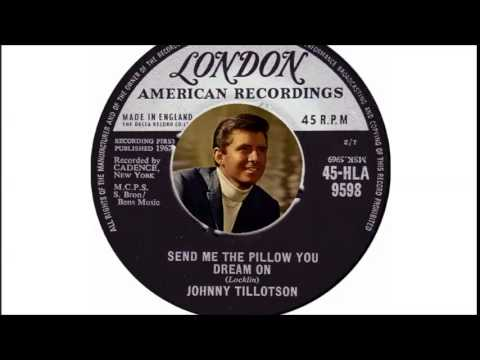 Johnny Tillotson - Send Me The Pillow You Dream On  (1961)