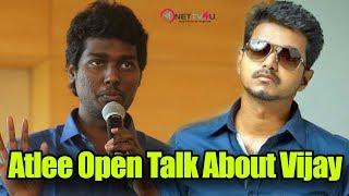 Director Atlee Kumar Open Talk About Thalapathy Vijay | Mersal Movie Latest Updates | Vijay | Atlee