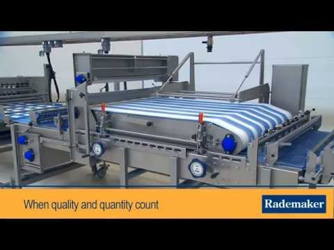 Industrial Bread Production Line By Rademaker