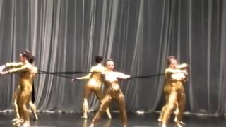 Соревнования/Эстрадные танцы/ ангелы 2 место