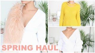 SPRING CLOTHING + SHOE HAUL