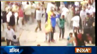 Violent Protest After School Teacher Allegedly Molests a Minor Girl - India TV