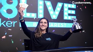 Ana Marquez is 888poker Live in Bucharest High Roller Champion!