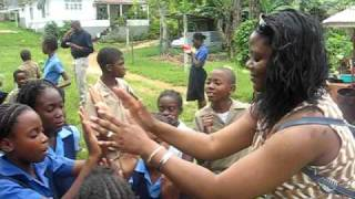 Jamaican children ring games