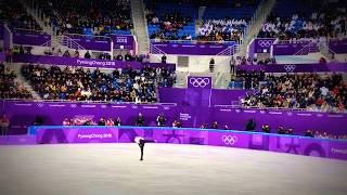 Михаил Коляда на Олимпийских играх в Пхенчхан 2018. Короткая программа