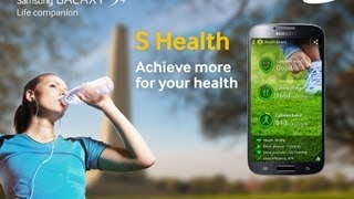 Samsung Galaxy S4 - S Health Fitness Companion - uSwitch.com